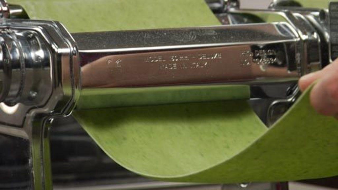 Spinach pasta dough recipe mario batali