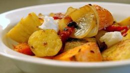Roasted Yams and Sweet Potatoes