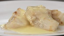 Cod w/ Classic Beurre Blanc Sauce