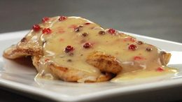 Tilapia with Pink Peppercorn Beurre Blanc