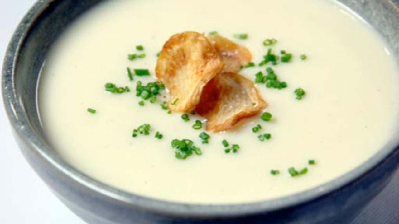 Image Gallery sunchoke soup