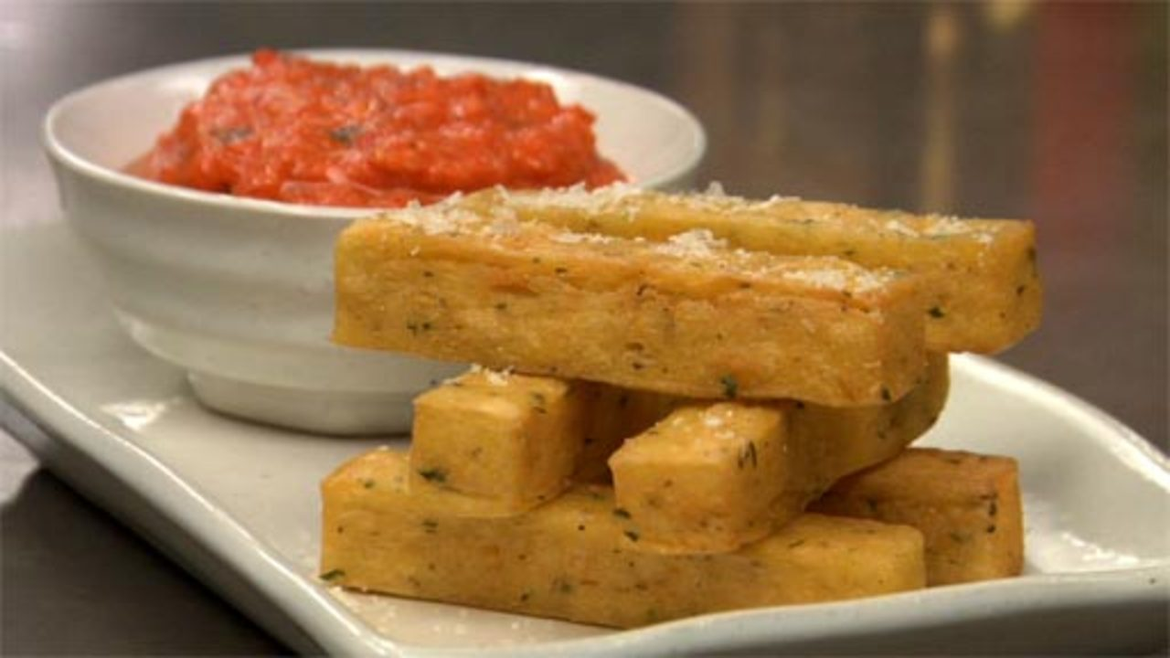 Chickpea Fries Recipe Text | Rouxbe Cooking School
