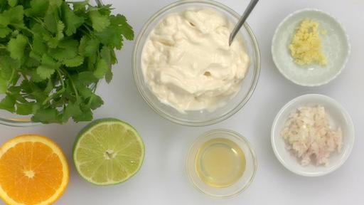 recipe: cilantro aioli sour cream [30]
