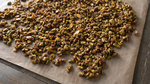 Dehydrating the Pistachios