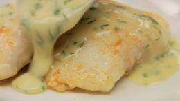 Halibut Cheeks with Lemon-Dill Beurre Blanc