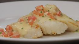 Beurre Blanc w/ Tomato Concassé & Chives