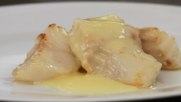Cod w/ Classic Beurre Blanc Sauce