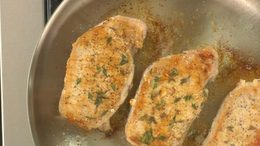 Brown Sugar & Thyme Pork Chops