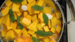 Making the Butternut Squash Purée
