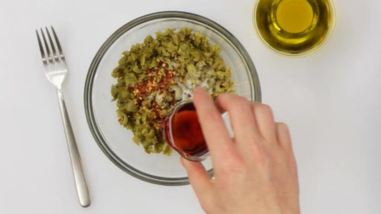 Making the Vinaigrette