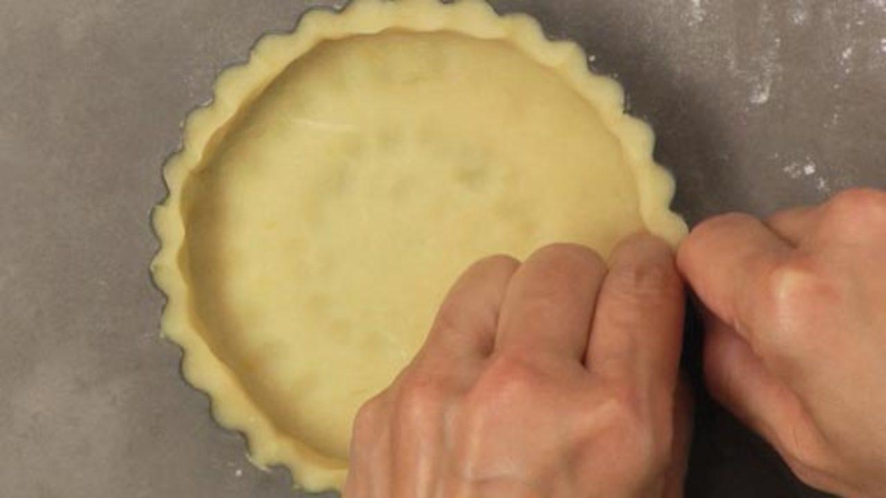 Preparing the Tart Shells