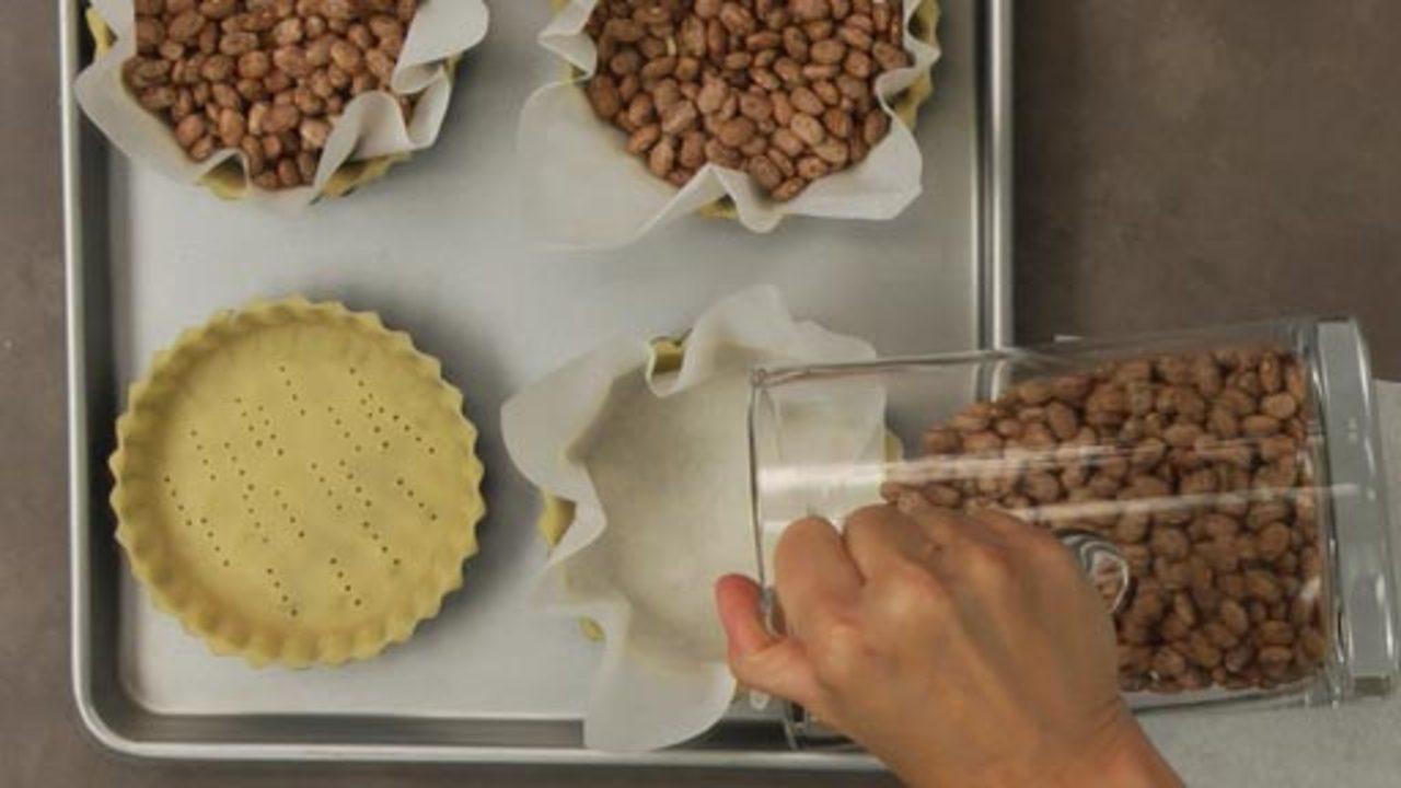 Blind Baking the Tart Shells