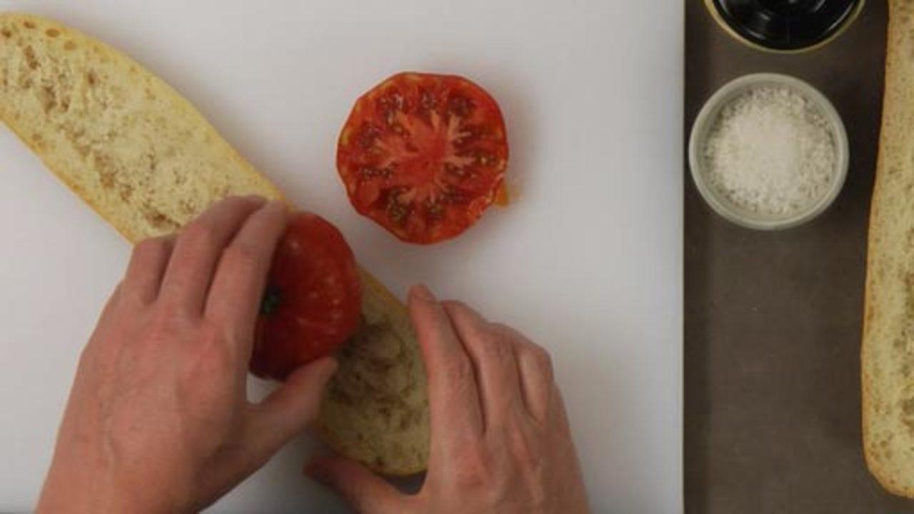 Assembling the Appetizer