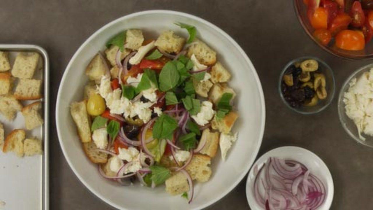 Assembling the Salad