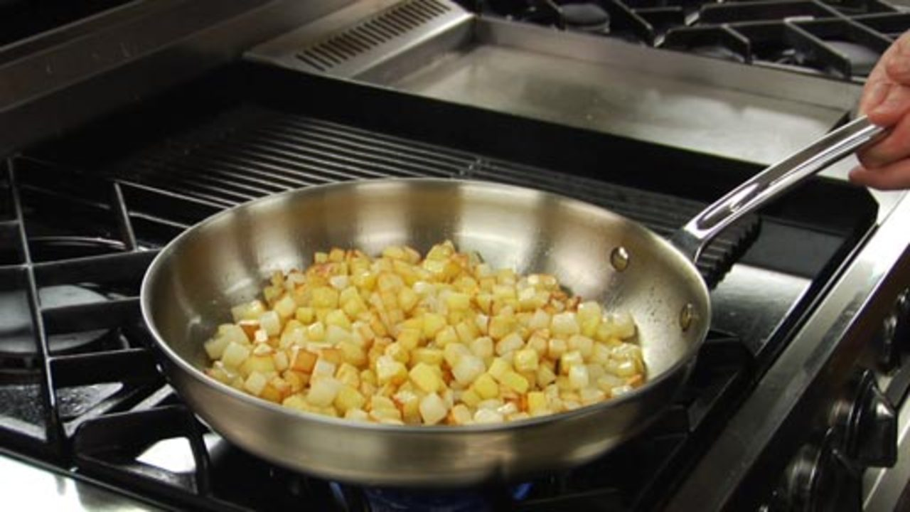Cooking the Hash Browns