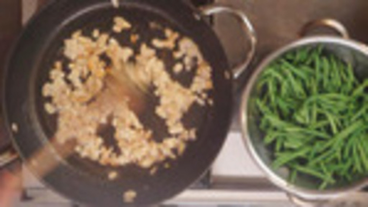 Cooking and Plating the Beans