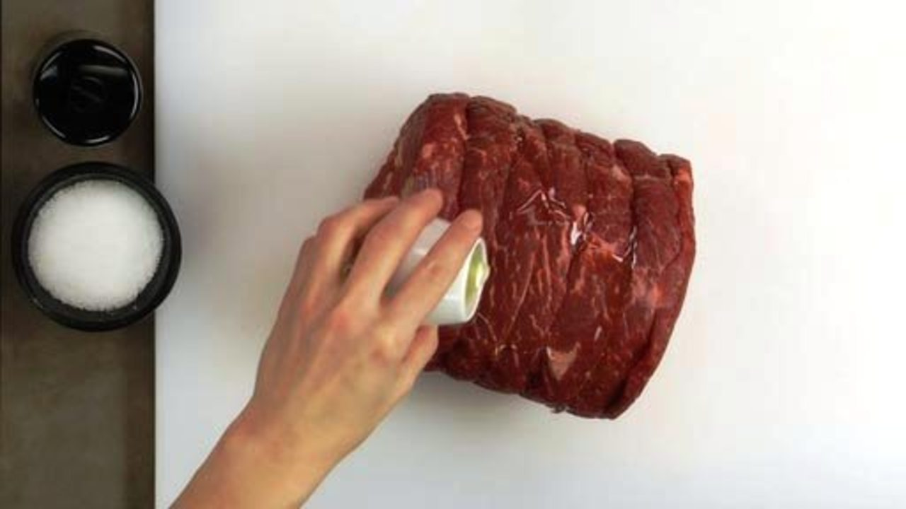 Preparing the Meat