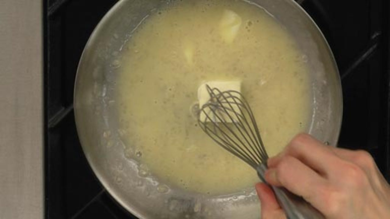 Making the Beurre Blanc