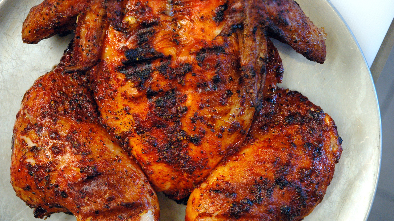 Achiote Marinated Grilled Chicken