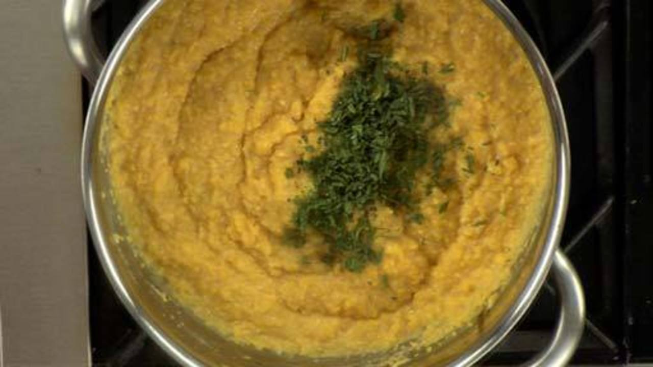 Making the Polenta