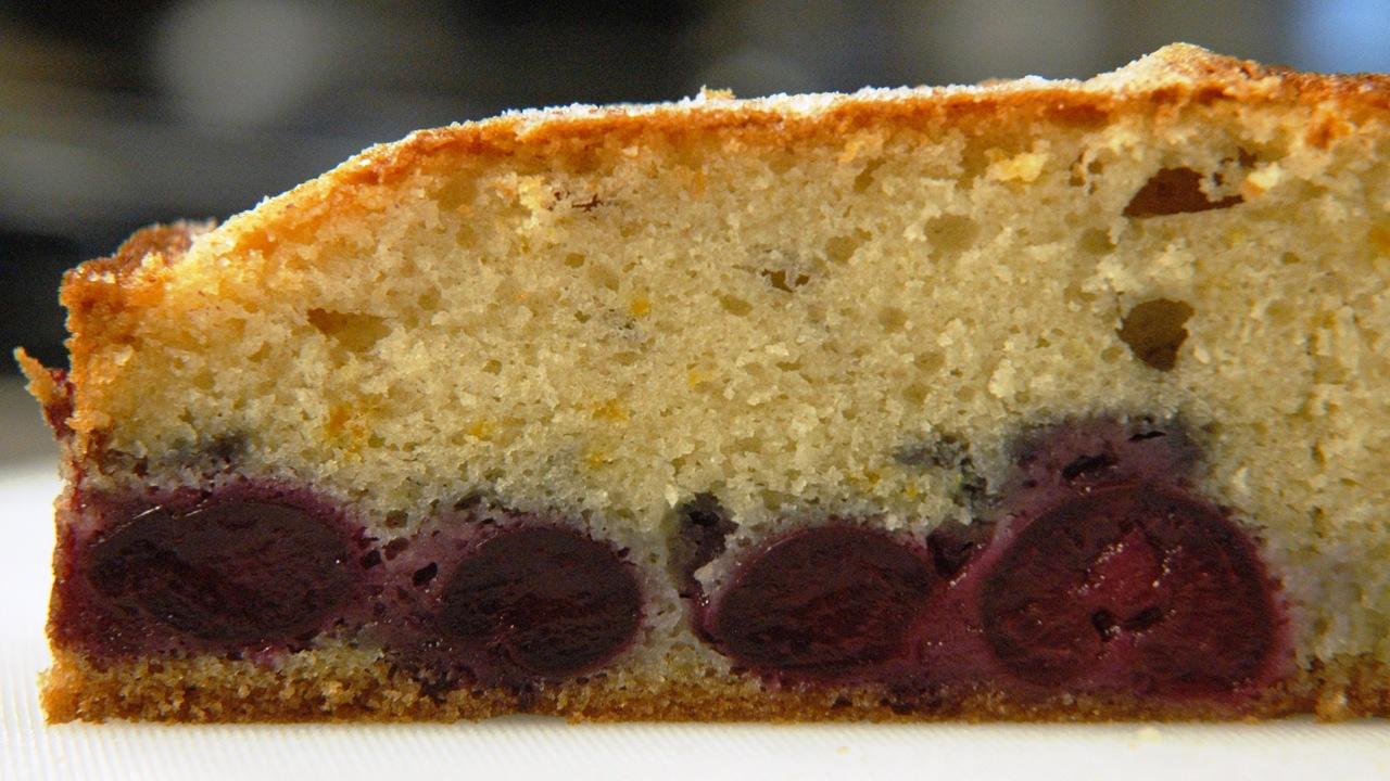 Fresh Cherry & Wine Cake | Torta Al Vino