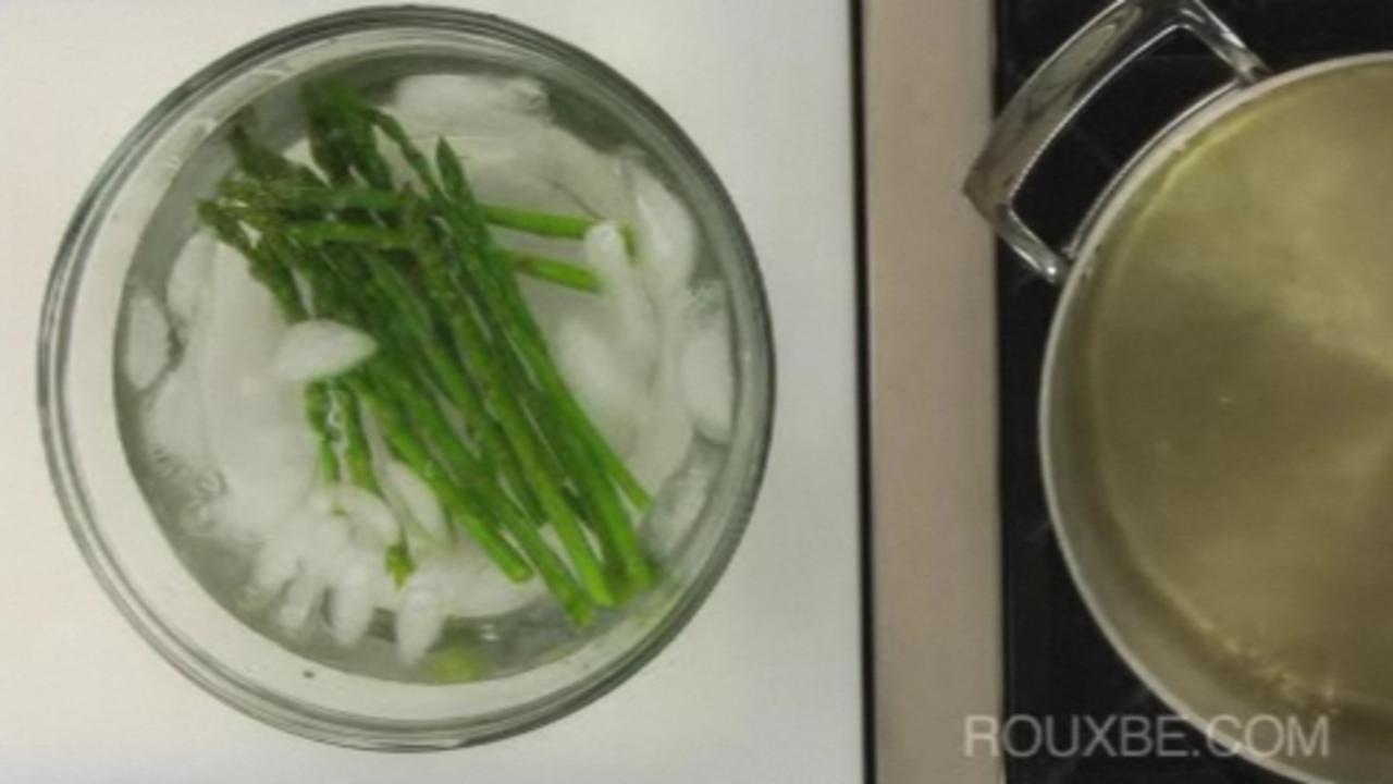 Blanch the Asparagus