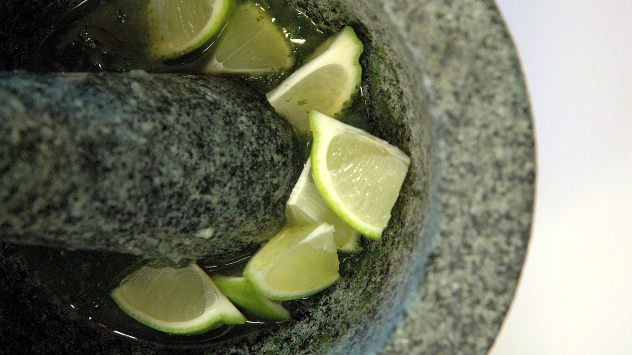 Adding the Lime Wedges
