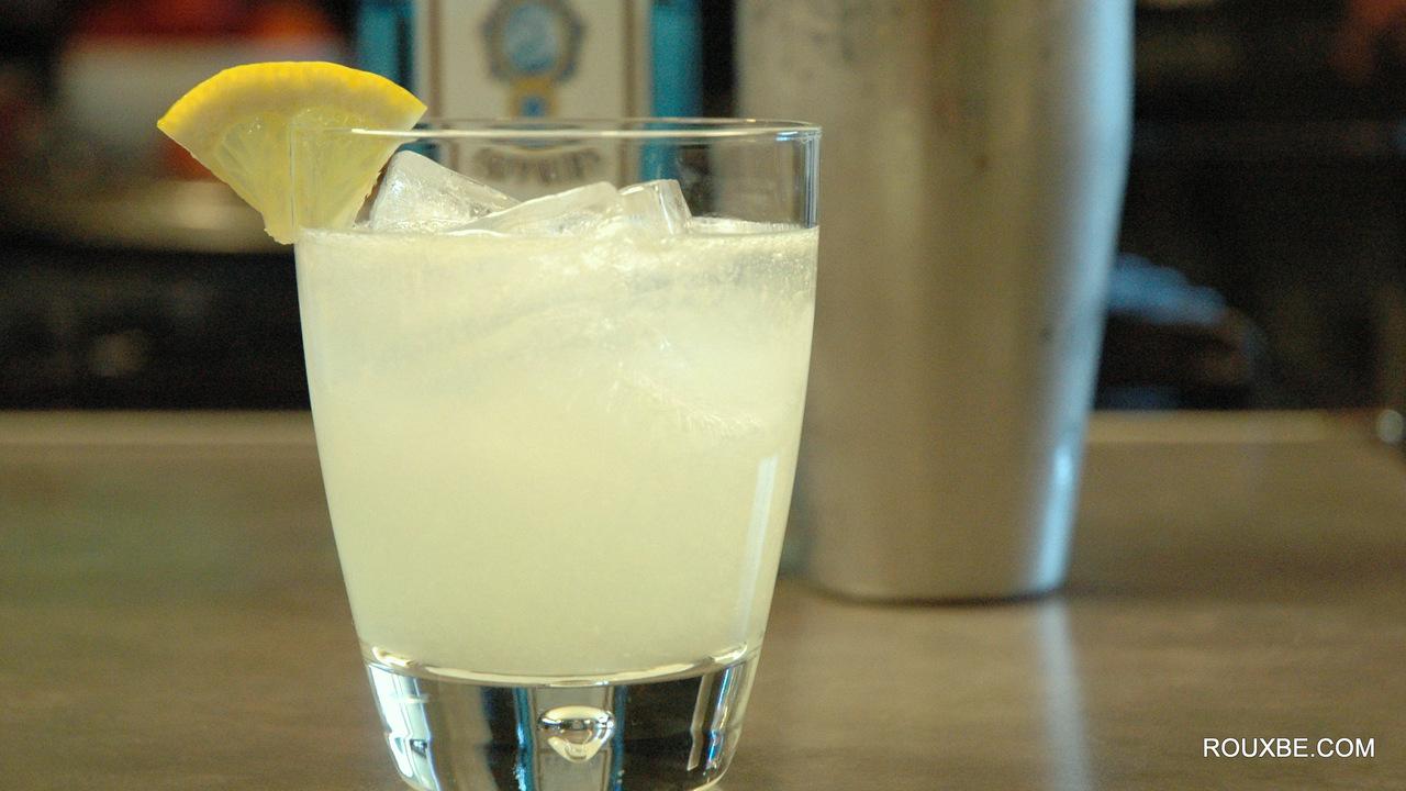Gin Fizz Lemonade