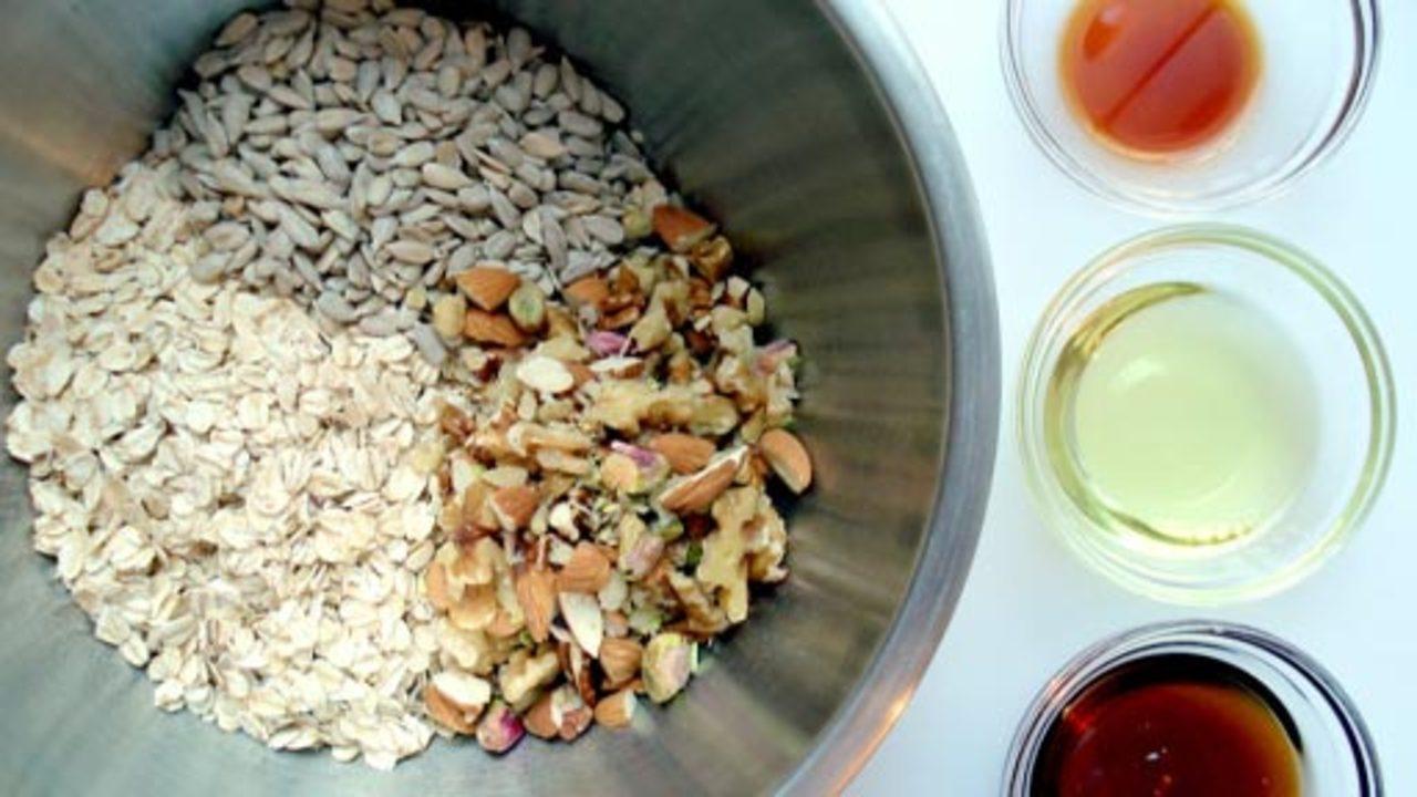 Preparing the Granola