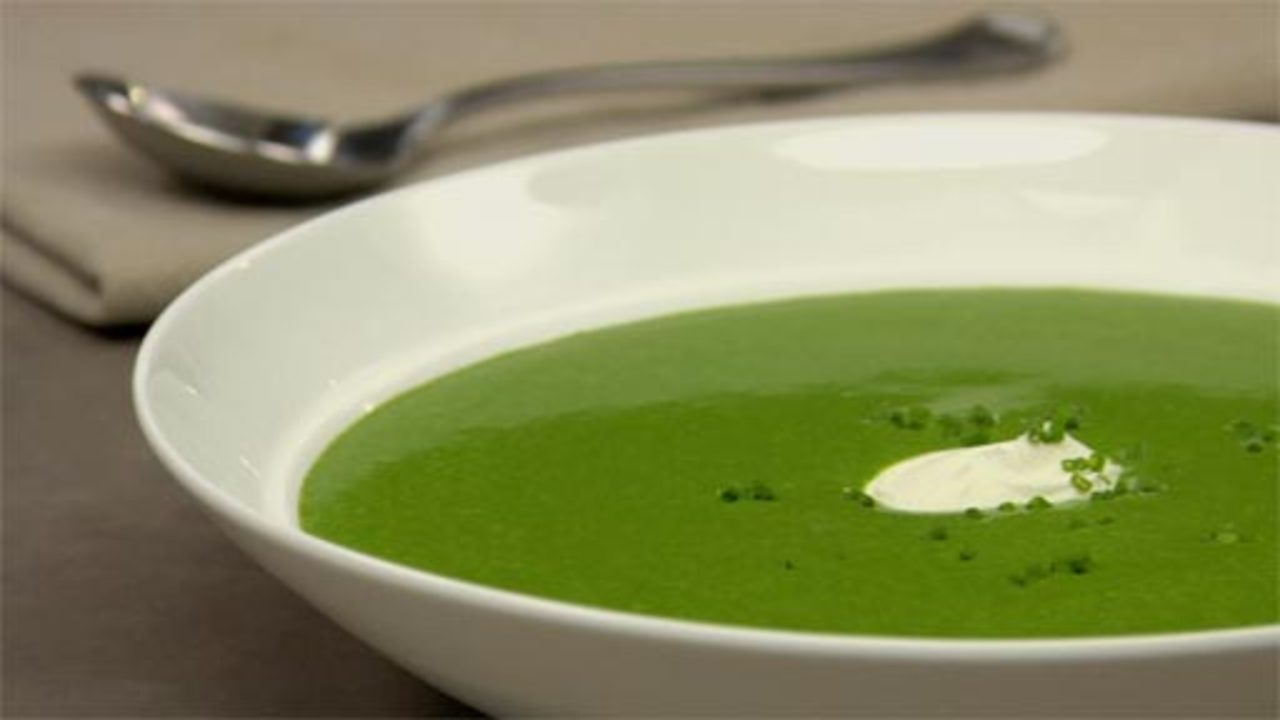 Cream Of Spinach & Watercress Soup