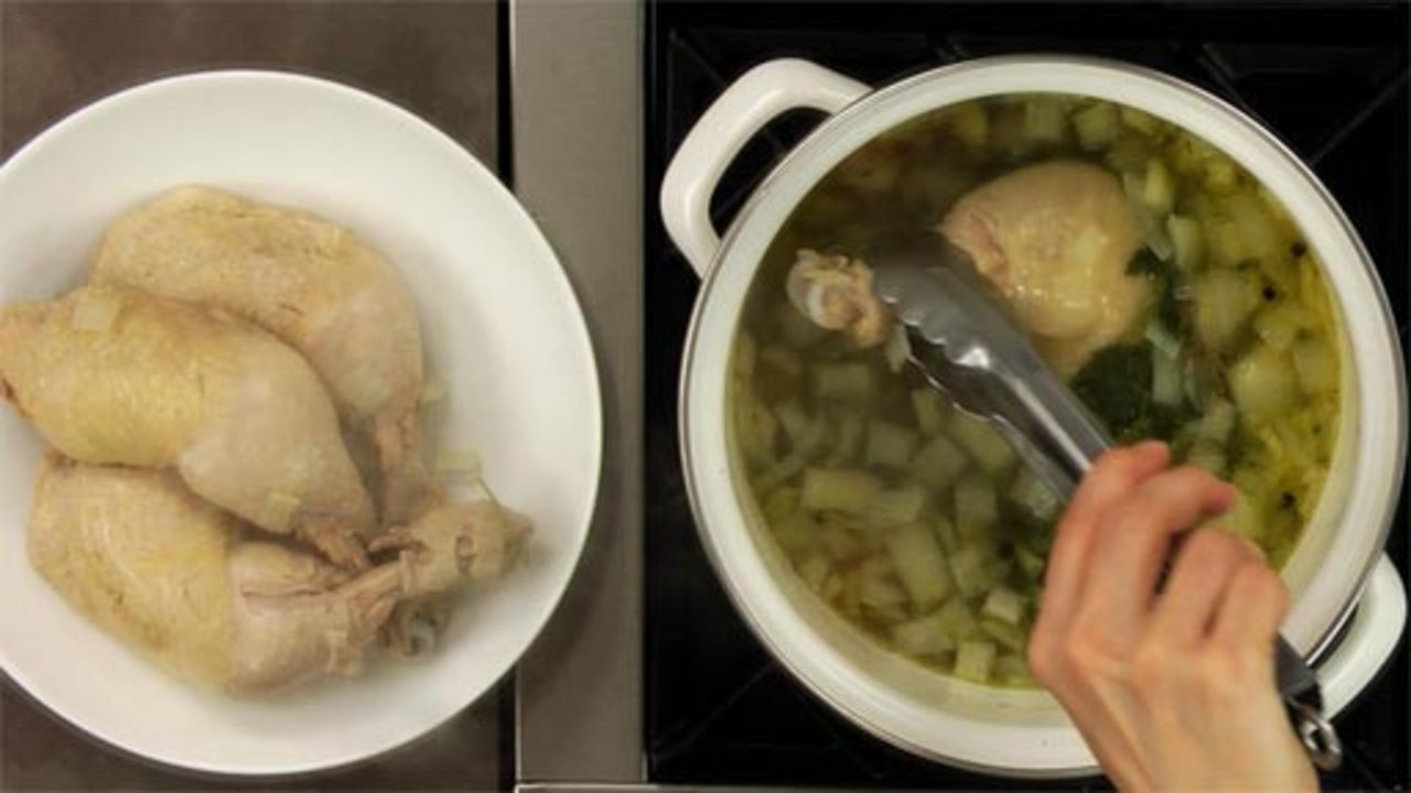 Making the Broth