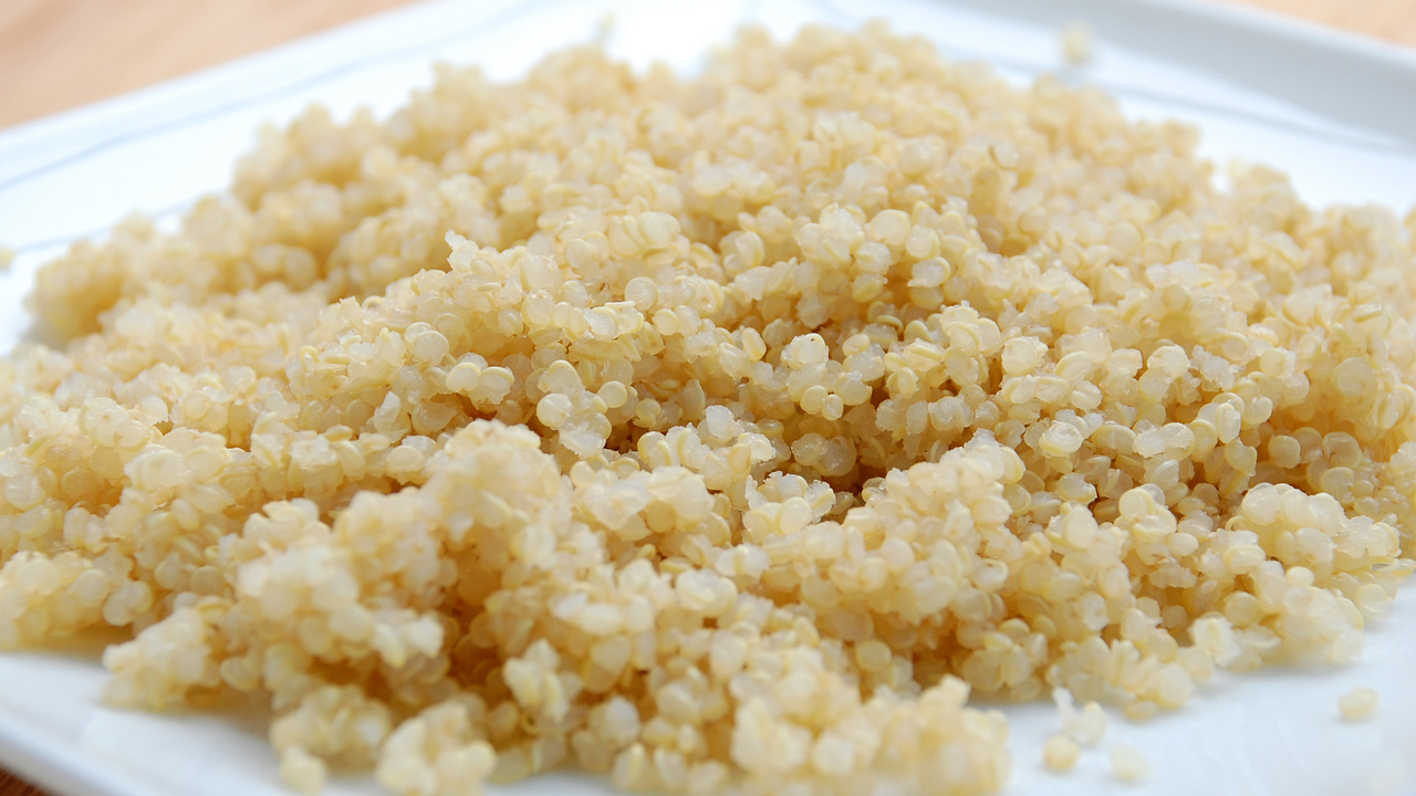 Cooking the Quinoa