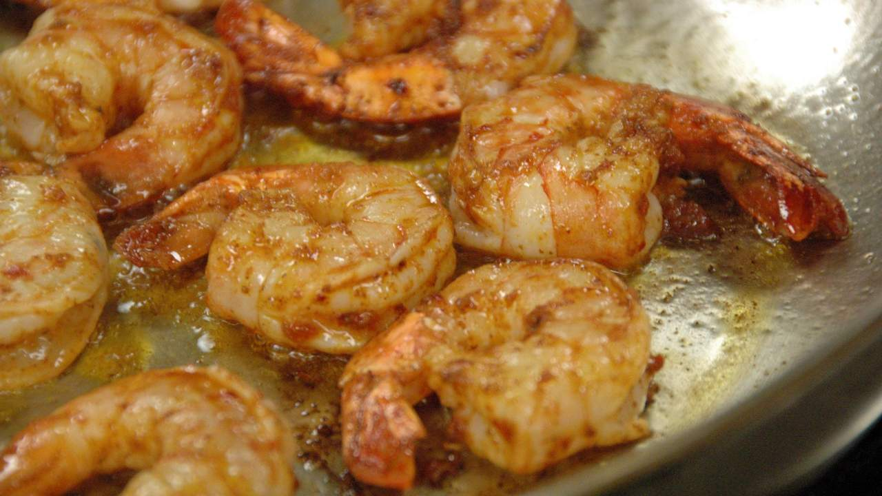 Cooking the Prawns