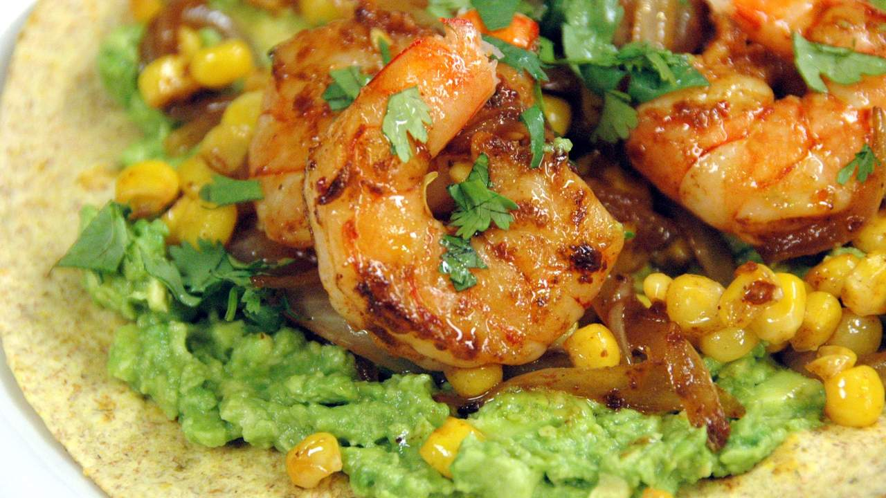 Quick And Easy Shrimp Fajita