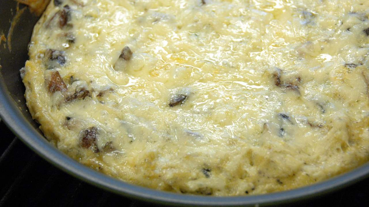 Baking and Serving the Frittata