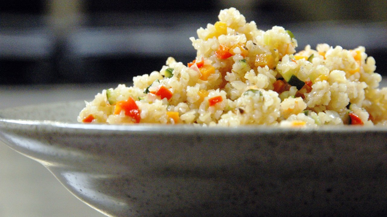 Mixed Vegetable Bulgur