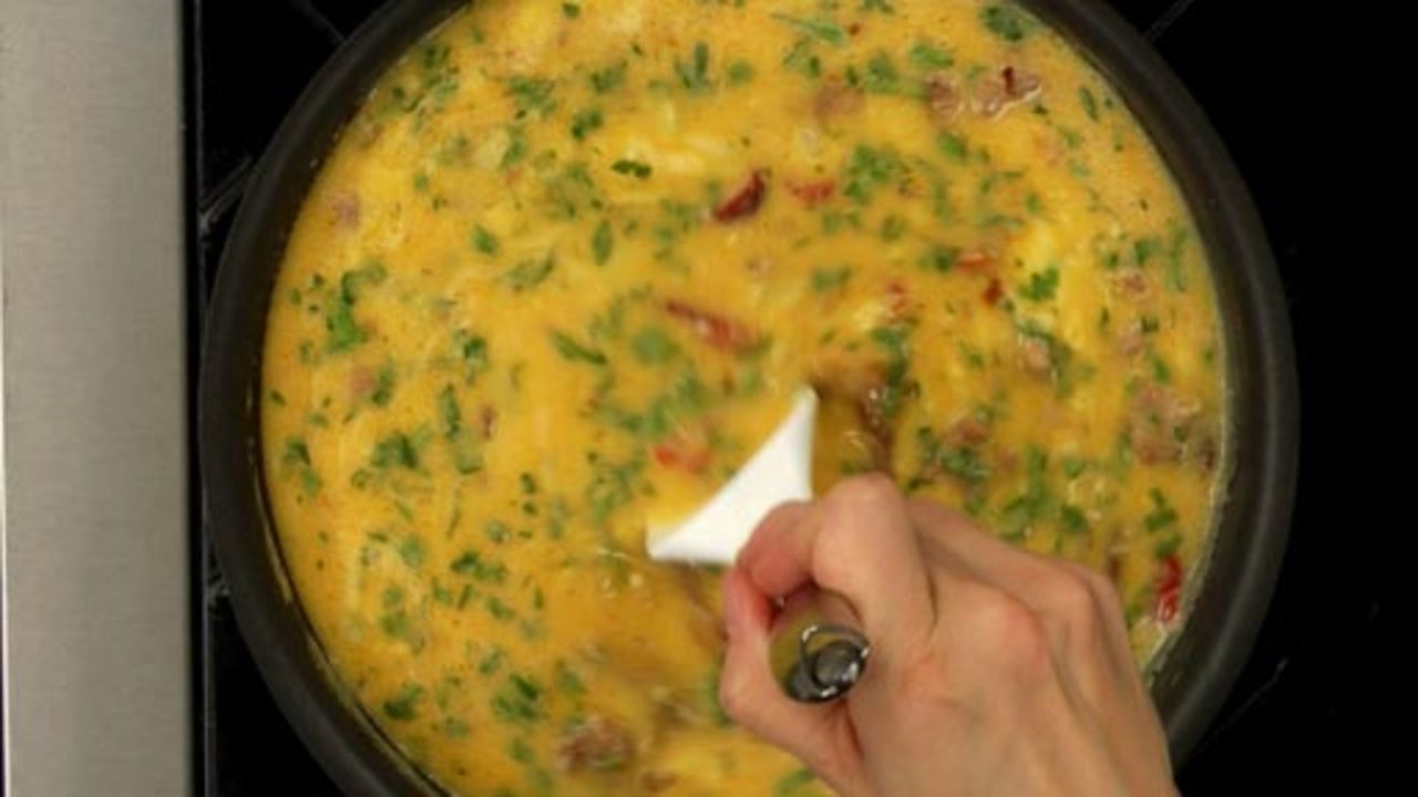 Cooking the Frittata
