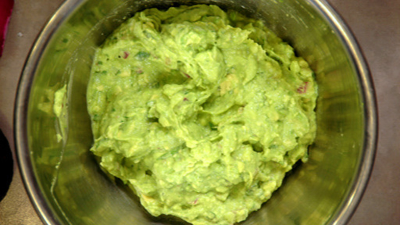 Preparing the Guacamole