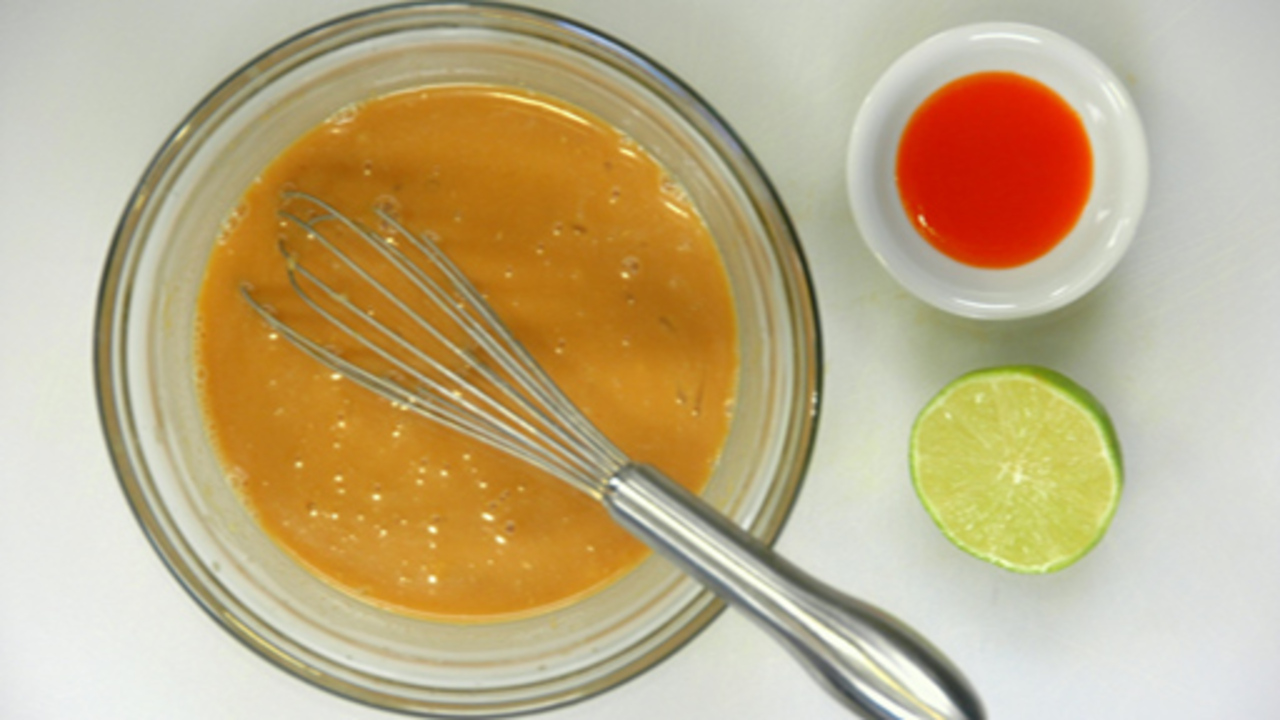 Making the Dressing