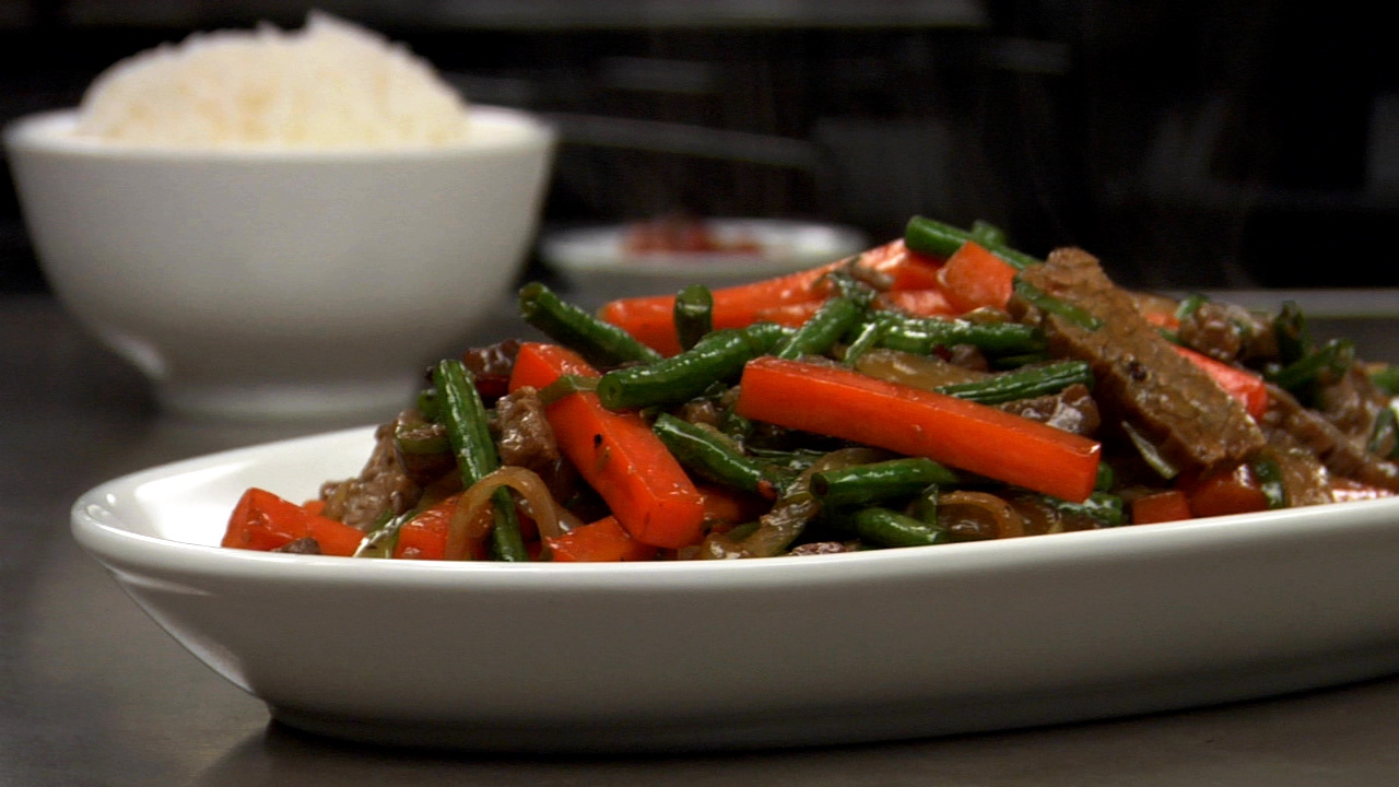 Stir Fried Beef & Vegetables
