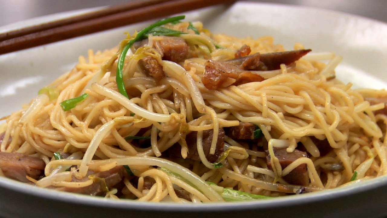 Barbecued Pork Chow Mein