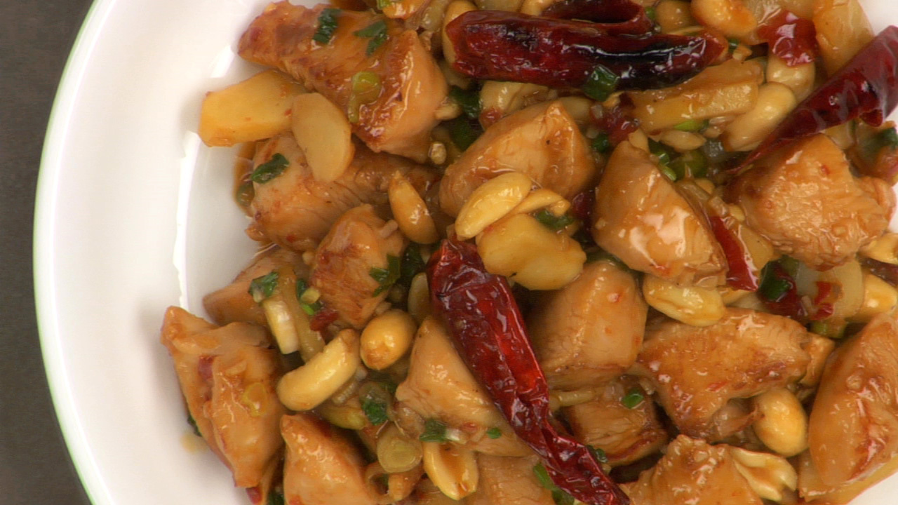 Kung Pao Chicken Stir Fry