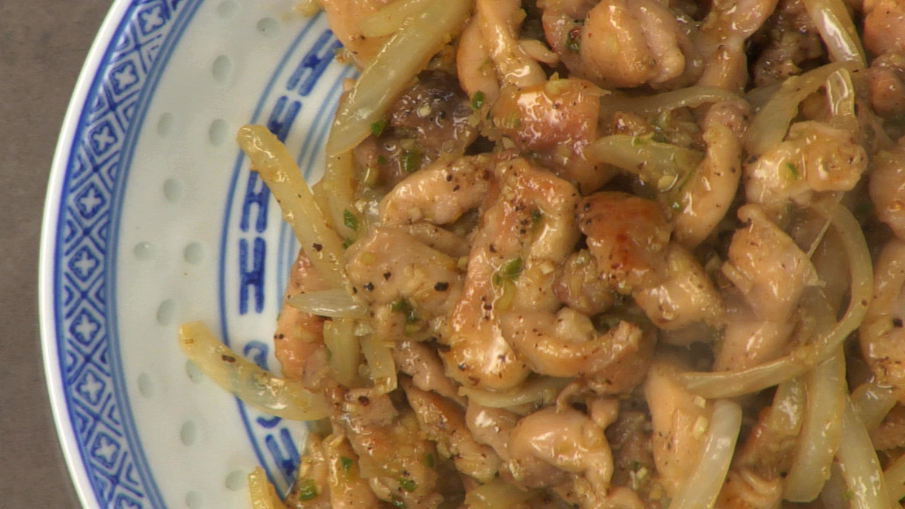 Stir Fried Lemongrass Chicken Rouxbe Online Culinary School