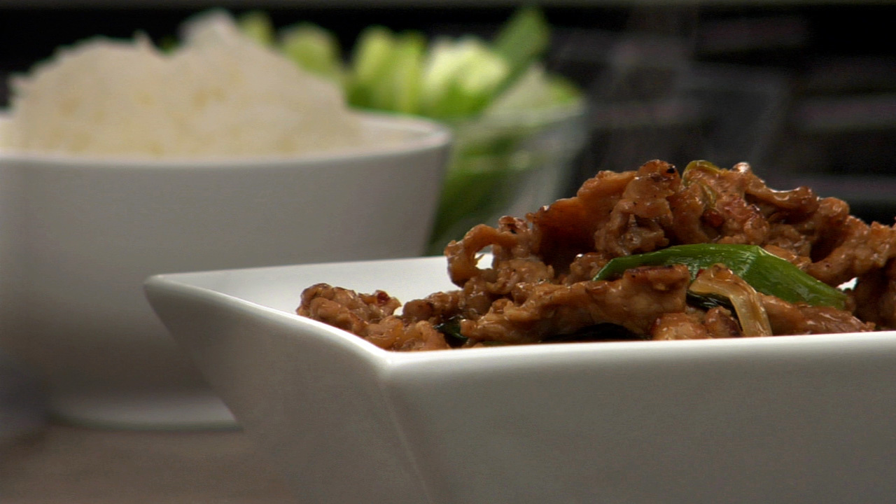 Stir Fried Vinegar Glazed Pork
