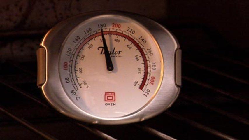 Dd oven temperatures hd854