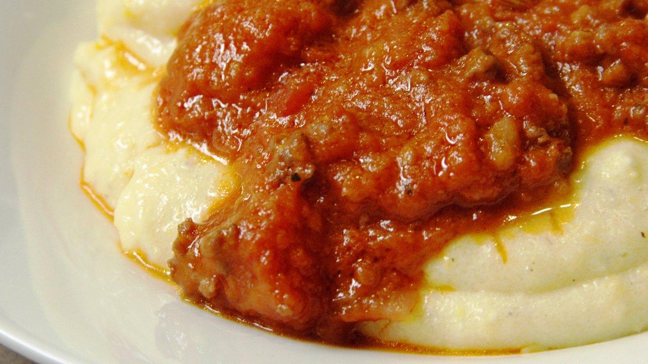 Sausage Ragu W/ Soft Polenta
