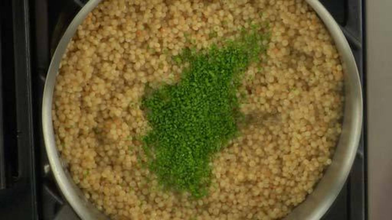 Preparing the Couscous