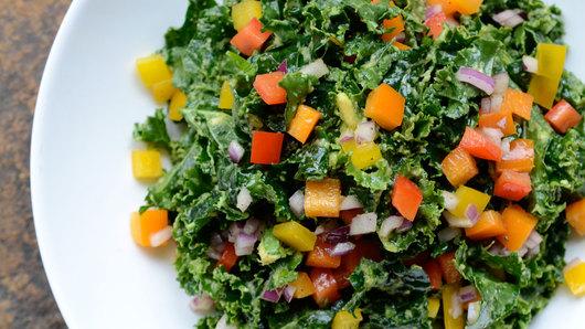 Kale avocado salad pfc twocolumn