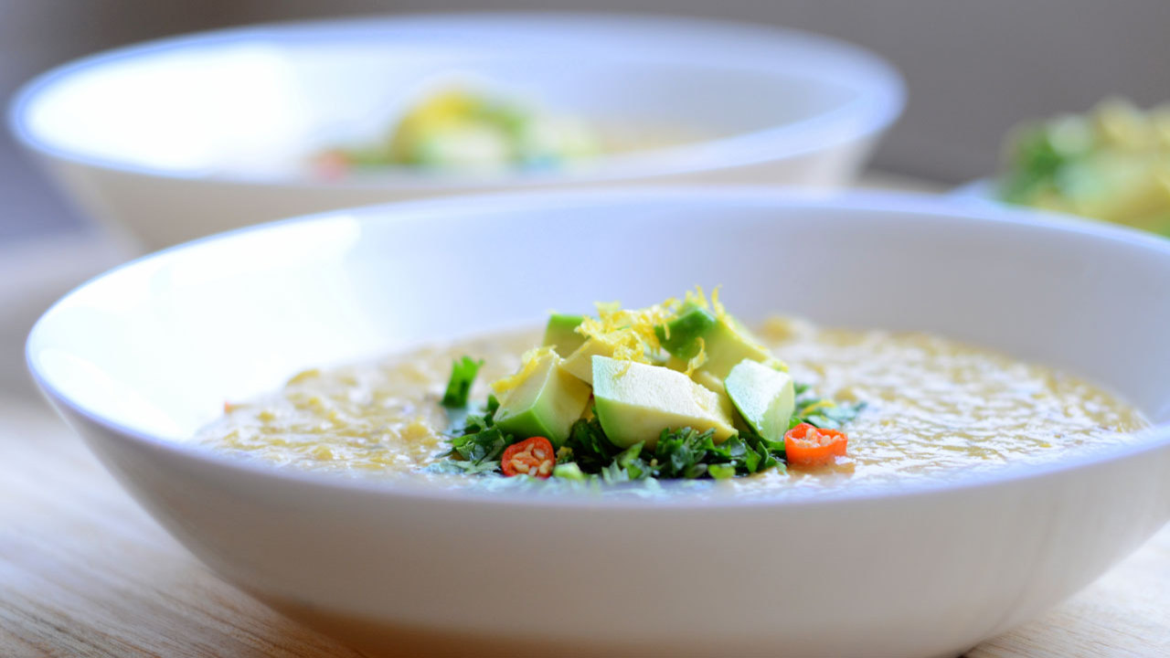 Lentil Coconut Soup