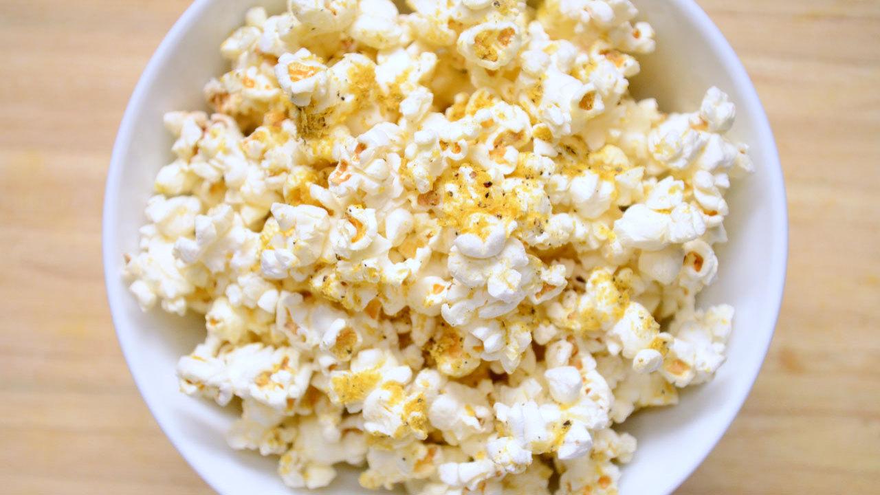 Scrumptious Vegan Popcorn